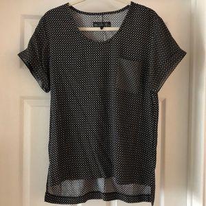 Rag & Bone silk blend t-shirt blouse